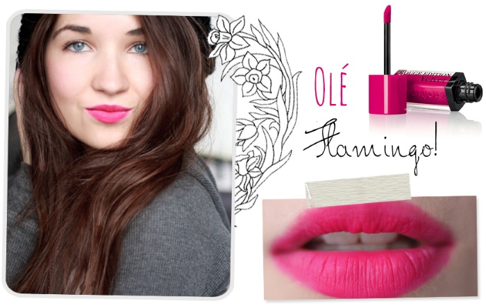 Son Bourjois Rouge Edition Velvet Olé Flamingo – 05