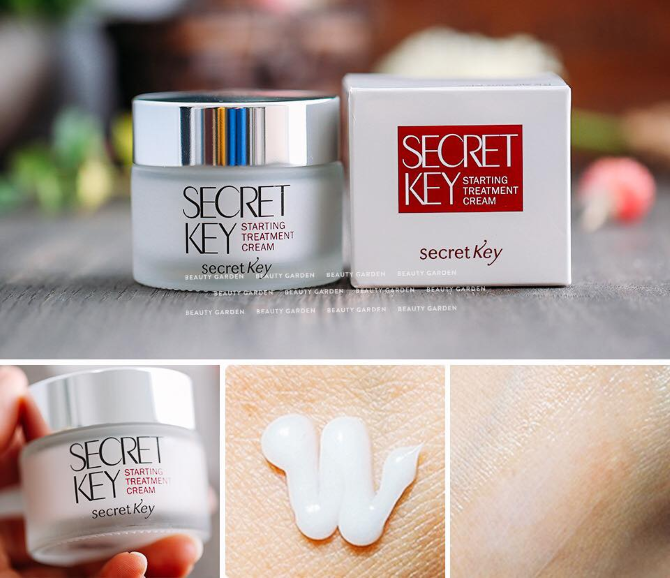 starting treatment cream secret key